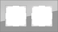 Рамка для выключателя Werkel Favorit WL01-Frame-02 / a030776 (серый) -