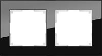Рамка для выключателя Werkel Favorit WL01-Frame-02 / a031798 (черный) -