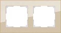 Рамка для выключателя Werkel Favorit WL01-Frame-02 / a040871 (шампань) -