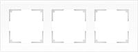 Рамка для выключателя Werkel Favorit WL01-Frame-03 / a036579 (белый, матовый) -
