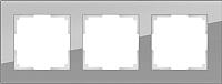 Рамка для выключателя Werkel Favorit WL01-Frame-03 / a030777 (серый) -