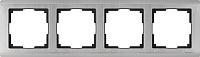 Рамка для выключателя Werkel Metallic WL02-Frame-04 / a028862 (глянцевый никель) -