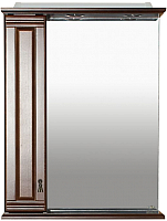 Шкаф с зеркалом для ванной Misty Рим 60 L / П-Рим03060-8025Л -