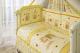Комплект постельный в кроватку Perina Ника / Н4-01.2 (мишка на подушке бежевый) -