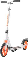 Самокат Sundays SA-401-1 (белый с оранжевым) -