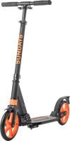 Самокат Sundays SA-401-2 (черный с оранжевым) -