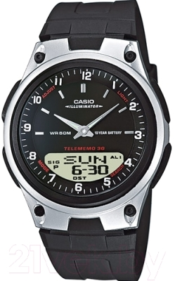 casio aw 48h 7b Часы наручные мужские Casio AW-80-1AVES