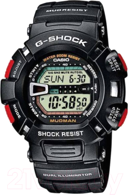 Часы наручные мужские Casio G-9000-1VER