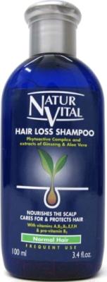 Шампунь для волос Natur Vital Hair Loss Shampoo Normal Hair (100мл)