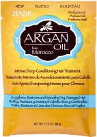 Маска для волос HASK Интенсивная для восстановления волос с аргановым маслом (50г) -