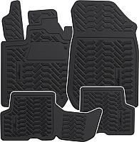 Комплект ковриков для авто AVS для Renault Logan 2 / A78745S (4шт) -
