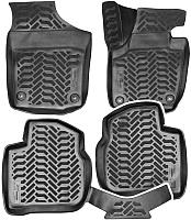 Комплект ковриков для авто AVS для Skoda Rapid / A78749S (4шт) -