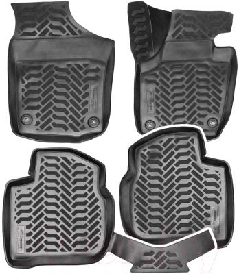 Комплект ковриков для авто AVS для Skoda Rapid / A78749S (4шт)