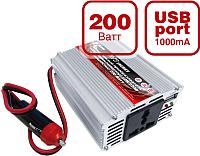 Автомобильный инвертор AVS IN-200W / A80683s -