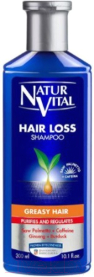 Шампунь для волос Natur Vital Hair Loss Shampoo Greasy Hair (100мл)