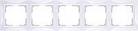 Рамка для выключателя Werkel Snabb Basic WL03-Frame-05 / a036629 (белый) -