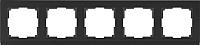 Рамка для выключателя Werkel Stark WL04-Frame-05 / a030809 (черный) -