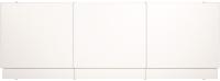 Экран для ванны МетаКам С выдвижным ящиком 149x54-58 (белый) -