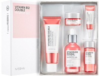 Набор косметики для лица Missha Vitamin B12 Double Hydrop Set 2 -