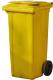 Контейнер для мусора Plastik Gogic 120л (желтый) -