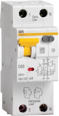 Дифференциальный автомат IEK АВДТ 32 C16 / MAD22-5-016-C-30
