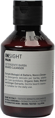 Шампунь для бороды Insight Man Beard Cleanser (100мл)