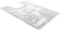 Коврик для туалета Shahintex PP 57x80 (белый) -