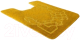 Коврик для туалета Shahintex PP 57x80 (желтый) -