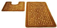 Набор ковриков Shahintex РР 60x100/60x50 (золото) -
