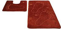 Набор ковриков Shahintex РР 60x100/60x50 (кирпичный) -