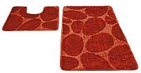 Набор ковриков Shahintex РР 60x100/60x50 (красный) -