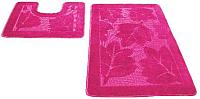 Набор ковриков Shahintex РР 60x100/60x50 (розовый) -