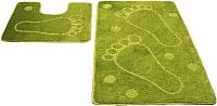 Набор ковриков Shahintex РР 60x100/60x50 (салатовый) -