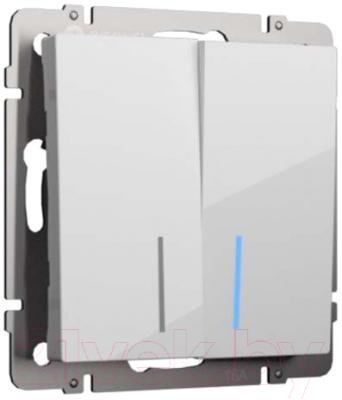 Выключатель Werkel WL01-SW-2G-2W-LED / a030767