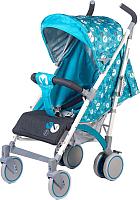 Детская прогулочная коляска Babyhit Rainbow LT (голубой/серый) -