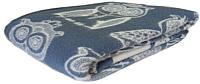 Одеяло детское Klippan Дымчатая сова 140x205 (шерсть) -