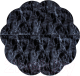 Игровой коврик Misioo Flower (Black Marble) -