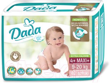 Подгузники детские Dada Extra Soft Maxi 4+ (42шт)