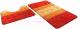 Набор ковриков Shahintex РР Mix 4K 60x100/60x50 (оранжевый) -