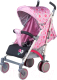 Детская прогулочная коляска Babyhit Rainbow LT (розовый/серый) -