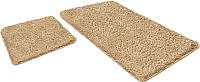 Набор ковриков Shahintex Lama 60x90/60x50 (бисквитный) -