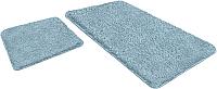 Набор ковриков Shahintex Lama 60x90/60x50 (голубой) -