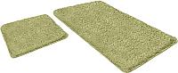 Набор ковриков Shahintex Lama 60x90/60x50 (салатный) -