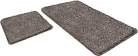 Набор ковриков Shahintex Lama 60x90/60x50 (серый) -