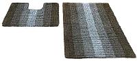 Набор ковриков Shahintex Multimakaron 60x90/60x50 (бежевый) -