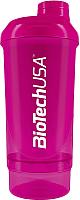 Шейкер спортивный BioTechUSA Wave I00003710 (пурпурный) -