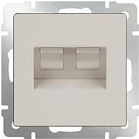 Розетка Werkel WL03-RJ11-45 / a028897 (слоновая кость) -