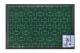 Коврик грязезащитный Shahintex МХ10 60x90 (зеленый) -