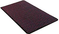 Коврик грязезащитный Shahintex Кольчуга 40x60 (бордовый) -