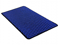 Коврик грязезащитный Shahintex Кольчуга 40x60 (синий) -